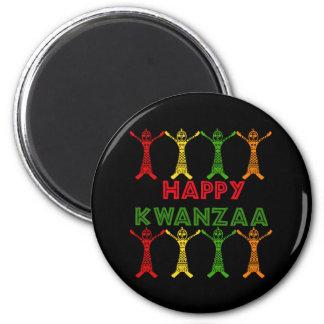 Kwanzaa-Tänzer Kühlschrankmagnet