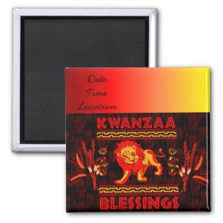 Kwanzaa-Tänzer Magnete