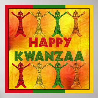 Kwanzaa-Tänzer Posterdruck