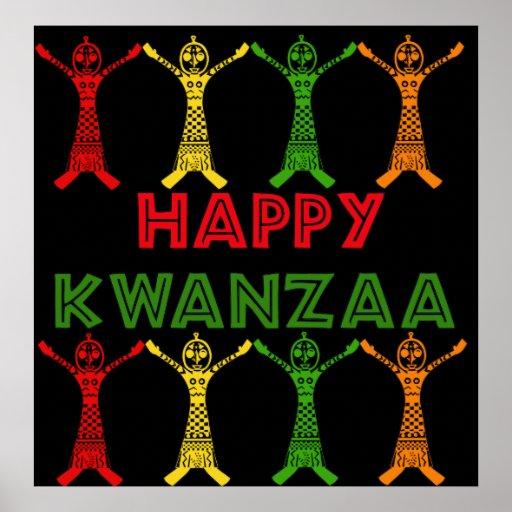 Kwanzaa-Tänzer Plakate
