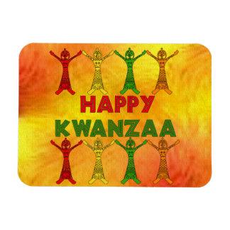 Kwanzaa-Tänzer Rechteckige Magnete