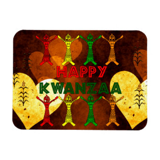 Kwanzaa-Tänzer Vinyl Magnet