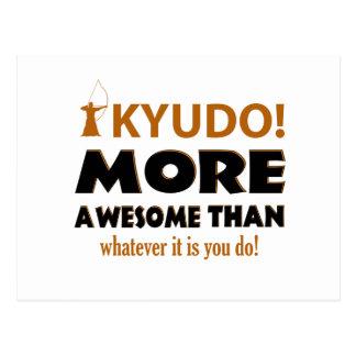 Kyudo Kampfkunst-Geschenkartikel Postkarte