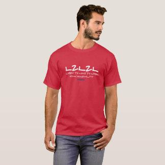 L2L2L lernen zu Liebe 2 lernen dunkles T-Stück T-Shirt