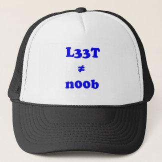 l33t leet n00b noob truckerkappe