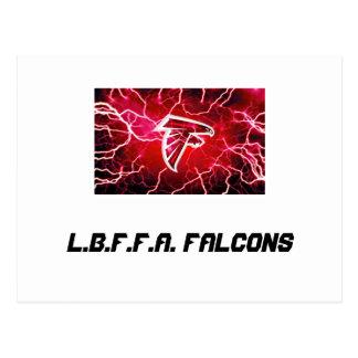 L.b.f.f.a. Falcons unter 8 Postkarte