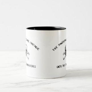 L&D Piraten-Tasse Zweifarbige Tasse