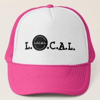 L.O.C.A.L Farbkundengerechter Fernlastfahrer-Hut Truckerkappe
