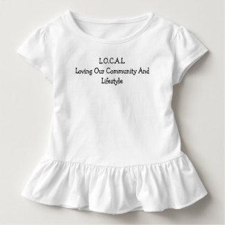 L.O.C.A.L Schwarzweiss Kleinkind T-shirt