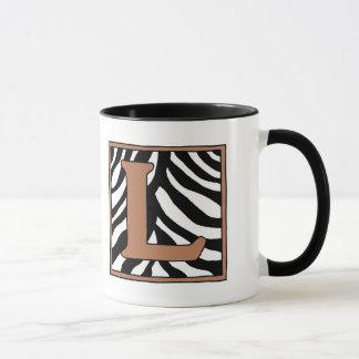 L-Zebra-Kaffee-Tasse Tasse
