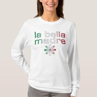 La Bella Madre Italien Flaggen-Farben T-Shirt