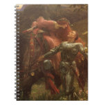La Belle Dame sans Merci, Dicksee, Victorian Art Note Book