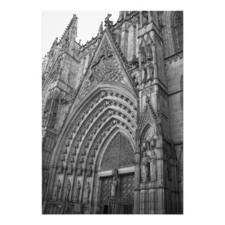 La Catedral Foto-Druck (Barcelona, Spanien)