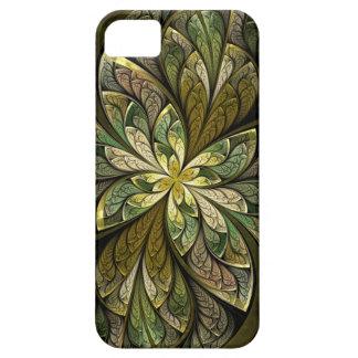La Chanteuse Vert grünes abstraktes beflecktes Barely There iPhone 5 Hülle
