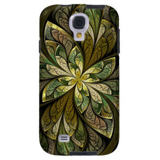 La Chanteuse Vert grünes abstraktes beflecktes Galaxy S4 Hülle