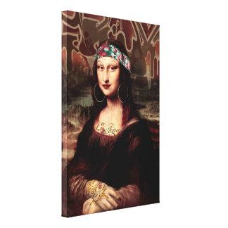 La Chola Mona Lisa Leinwanddruck