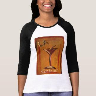 La Cosmo C'est La konkurrieren T-Stück (das Leben T-Shirt