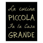 La Cucina (die Küche) Plakat
