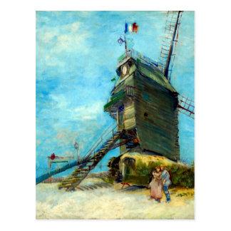 La Galette Vincent van Goghs Le Moulin de Postkarte