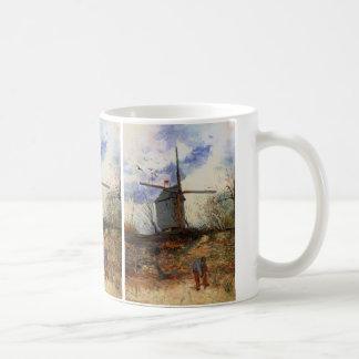 La Galette, Vintage Windmühle Van Gogh Le Moulin Kaffeetasse