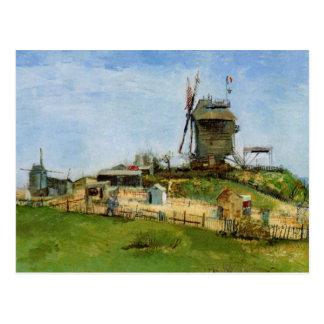 La Galette, Vintage Windmühle Van Gogh Le Moulin Postkarte