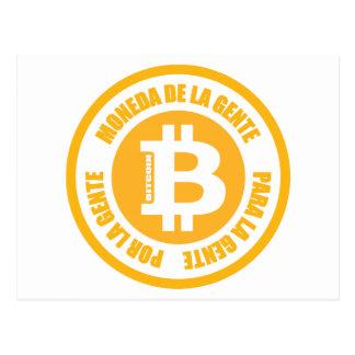 La Gente Bitcoin Moneda De La Gente Para Gente Por Postkarte