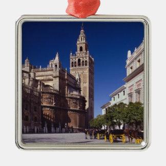 La Giralda Sevillas, Spanien | Silbernes Ornament