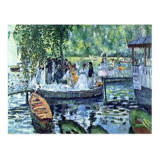 La Grenouillere1 durch Pierre Renoir Postkarte