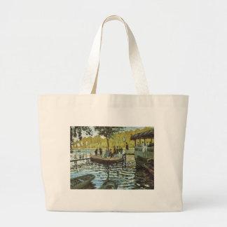 La Grenouillere - Claude Monet Jumbo Stoffbeutel