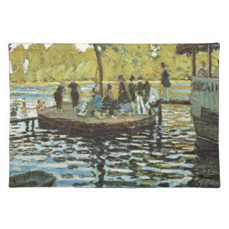 La Grenouillere - Claude Monet Stofftischset