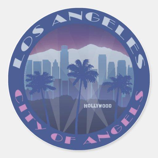 LA Hollywood cool Aufkleber