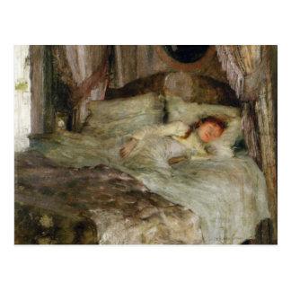 La Jeune Femme endormie Postkarte