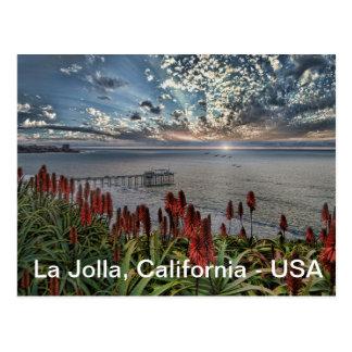 La Jolla, Kalifornien Postkarte