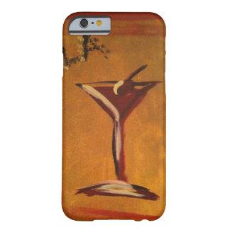 """LA KONKURRIEREN EN-ROSEN-"" MARTINI-GLAS BARELY THERE iPhone 6 HÜLLE"
