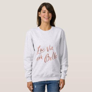 La konkurrieren Est-Schönheit - französisches Sweatshirt