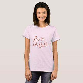 La konkurrieren Est-Schönheit - französisches T-Shirt