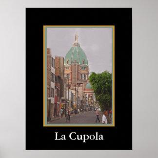 La-Kuppel - gewölbte Kathedrale Poster
