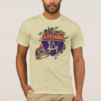 LA/Latinos Mann T-Shirt