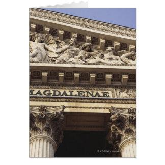 La-Madeleine-Kirche in Paris, Frankreich Grußkarte