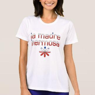 La Madre Hermosa Chile-Flaggen-Farben T-Shirt