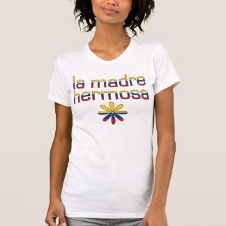 La Madre Hermosa Kolumbien Flaggen-Farben T-Shirt