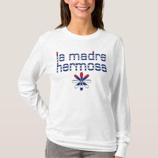 La Madre Hermosa Kuba Flaggen-Farben T-Shirt