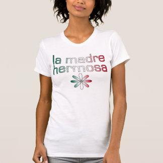 La Madre Hermosa Mexiko Flaggen-Farben T-Shirt