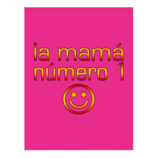La Mamá Número 1 (Mamma der Nr.-1 auf spanisch) Postkarte