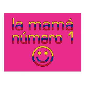 La Mamá Número 1 - Mamma der Nr.-1 in Postkarte