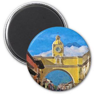 La Merced Bogen - Antigua Runder Magnet 5,7 Cm