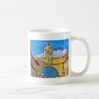 La Merced Bogen mit Vulkan Kaffeetasse