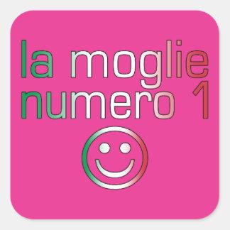 La Moglie Numero 1 - Ehefrau der Nr.-1 auf italien Sticker