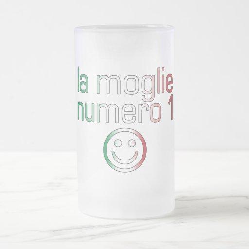 La Moglie Numero 1 - Ehefrau der Nr.-1 auf italien Tasse