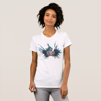 La Monde - V der Lionfish-Frau T-Shirt